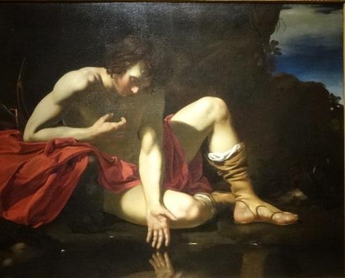 Narcisse - Peintre hollandais (c1640)