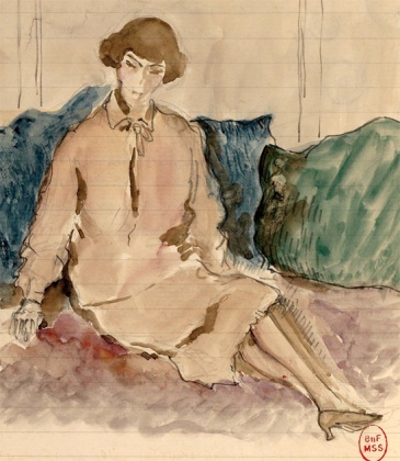 Catherine Pozzi par Paul Valéry -1927