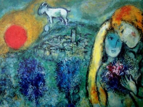 Chagall - Les amoureux de Vence