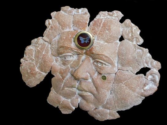 Emmanuel Sellier - Mémoire fossile - terre cuite patinée