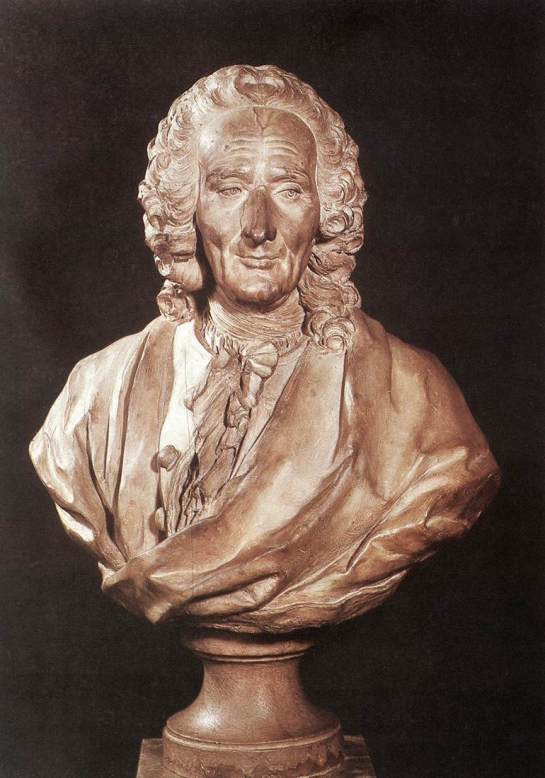 Jean-Philippe Rameau par  J-J Caffieri - 1760