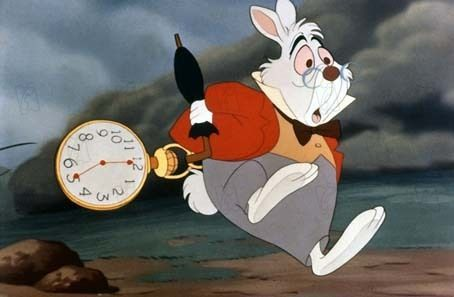 Lapin en retard - Alice - Disney