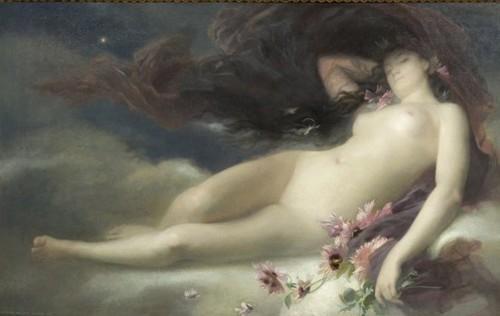 Alexandre Auguste Hirsch - La nuit 1875