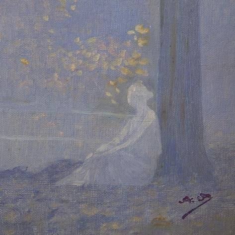 Alphonse Osbert (1857-1939) - Rêverie