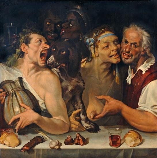 Bartolemeo Passerrotti - La joyeuse compagnie (1550)