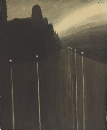 Léon Spilliaert (1881-1946) - Digue de nuit - 1908