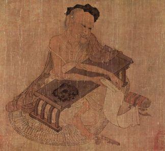 Wang Wei poète, peintre et musicien chinois du VIIIème siècle (époque Tang), profondément inspiré des sagesses du bouddhisme zen