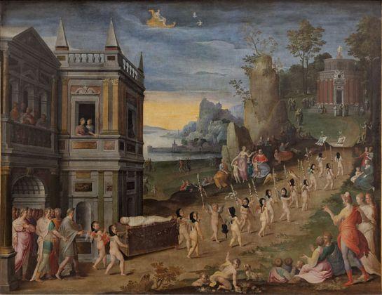 Henri Lerambert (1550-1609) - Les Funérailles de l'Amour (Louvre)