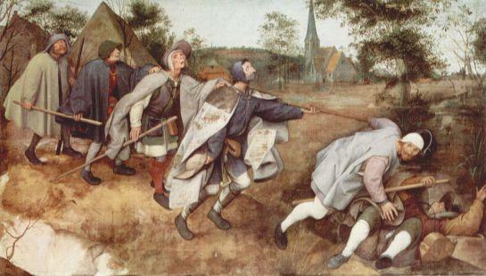 Pieter Bruegel l'Ancien - La parabole des aveugles - 1568