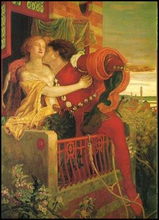 Ford Madox Brown (1821-1893) - Roméo et Juliette