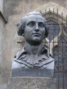 Jean-Pierre Claris de Florian par J-A Fauginet (Sceaux) 1755-1794  crédit Wikipédia