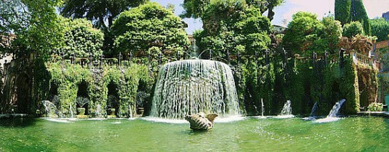Villa d'Este -Fontana Ovato