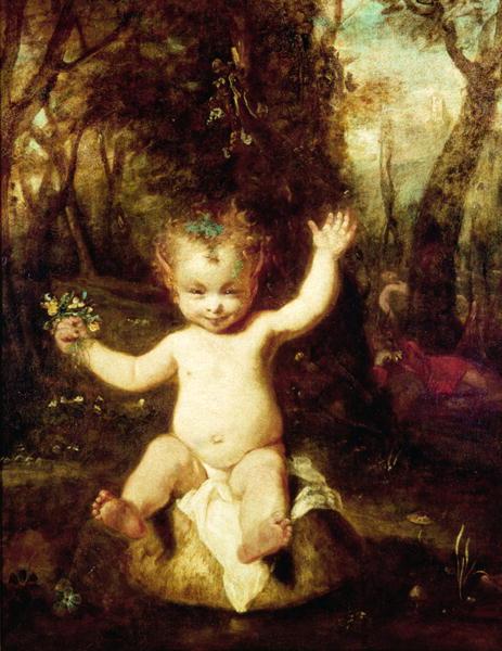 Joshua Reynolds (1723-1792) - Puck (Songe d'une nuit d'été)